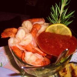Cocktail Sauce & Shrimp