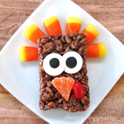 Cocoa Krispies Treat Turkeys