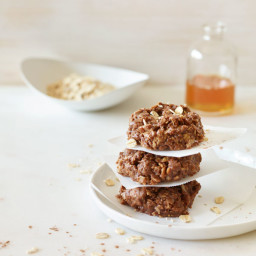 Cocoa-nut Peanut Butter No-Bake Cookies