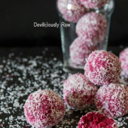Coconut and Beetroot Balls