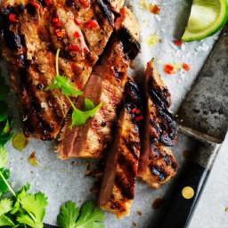 Coconut and chilli pork steak recipe