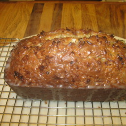 Coconut Banana Bread W/Key Lime Glaze
