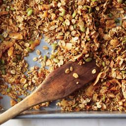 Coconut-Buckwheat Granola