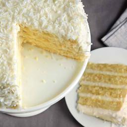 Coconut Cake Recipe - WeightWatchers