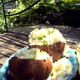 Coconut-Cashew Basmati Rice Salad