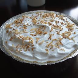 Coconut Cream Pie (Easy)