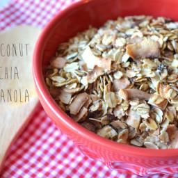 Coconut Chia Granola