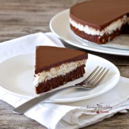 Coconut Chocolate Cake • paleo, grain-free, gluten-free, dairy-free, soy-fr