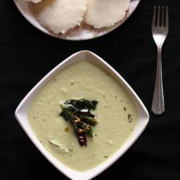 Coconut Chutney Recipe For Idli Dosa, Thengai Chutney