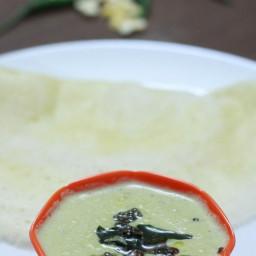 Coconut Chutney Recipe | South Indian Recipe