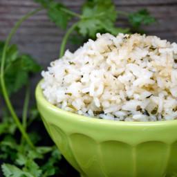 Coconut Cilantro Rice Recipe