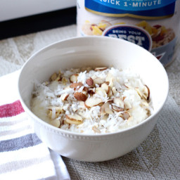 Coconut Cream Pie Oatmeal Bowls