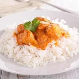 Coconut Curry Chicken and Rice