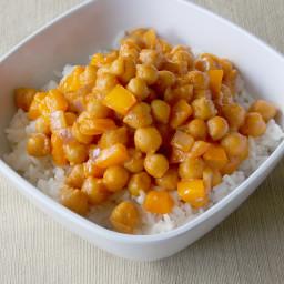 Coconut Curry Garbanzo Beans Recipe