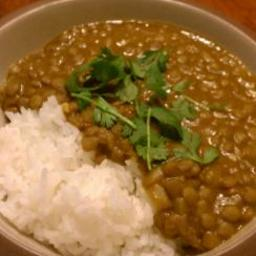 Coconut Curry Lentils