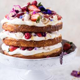 Coconut Eton Mess Cake