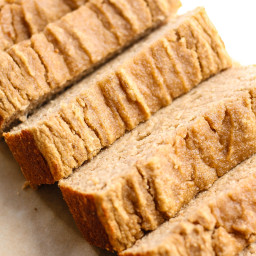 Coconut Flour Banana Bread [simple, vegan, gluten-free, paleo]