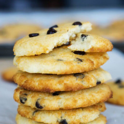 Coconut Flour Chocolate Chip Cookies   Chewy!