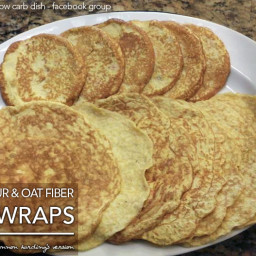 Coconut Flour & Oat Fiber Psylli Buns and Wraps from Shannon Harding