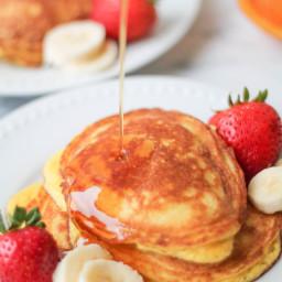 Coconut Flour Pancakes - Gluten Free, Paleo