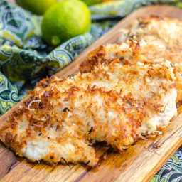 Coconut Fried Fish