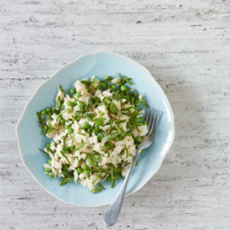 Coconut Jasmine Rice with Peas and Mint
