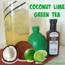Coconut Lime Green Tea