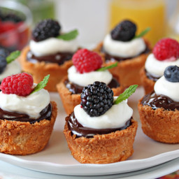 Coconut Macaroon Tarts for Passover