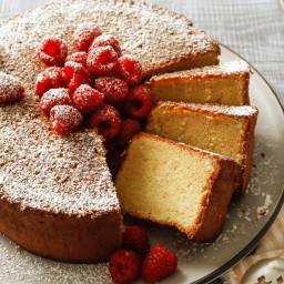Coconut Marzipan Cake