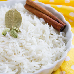 Coconut Milk Rice Make it on Stove Top or Pressure Cooker
