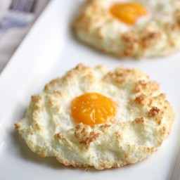 Coconut-Nested Eggs
