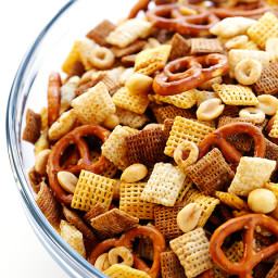 Coconut Oil Chex Mix