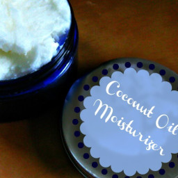Coconut Oil Moisturizer (Whipped Coconut Oil)