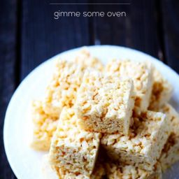 Coconut Oil Rice Krispies