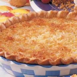Coconut Pineapple Pie Recipe