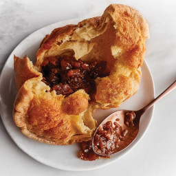 Coconut Popovers with Mango Chutney