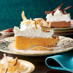 Coconut-Pumpkin Chiffon Pie