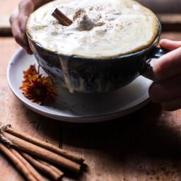 Coconut Pumpkin Spice Latte.