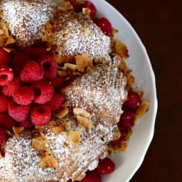 Coconut Raspberry Bundt Cake