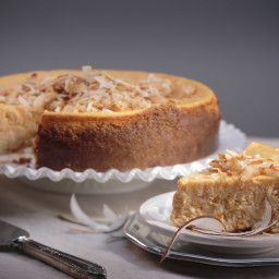 Coconut Rice Sweet Potato Cheesecake