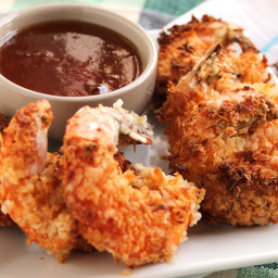 Coconut Shrimp with Spicy Marmalade Sauce (and an AirFryer Review)
