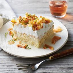Coconut Tres Leches Sheet Cake Recipe