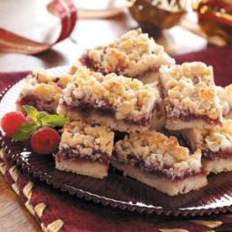 Coconut Raspberry Bars Recipe