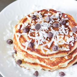 Coconut Yogurt Pancakes Recipe