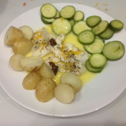Thermomix Codfish Fillets with Citrus Butter