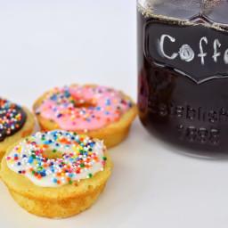 Coffee and Mini Donuts Recipe