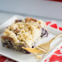 Coffee cake de blueberries (moras azules)