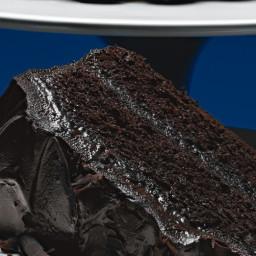 Coffee-Chocolate Layer Cake with Mocha-Mascarpone Frosting