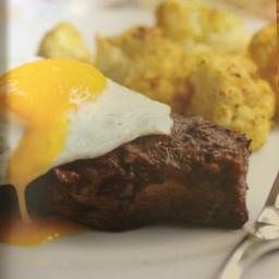 Coffee-Marinated Flat Iron Steaks