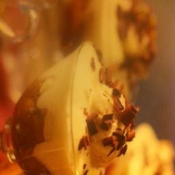 Coffee, mascarpone and banana trifles